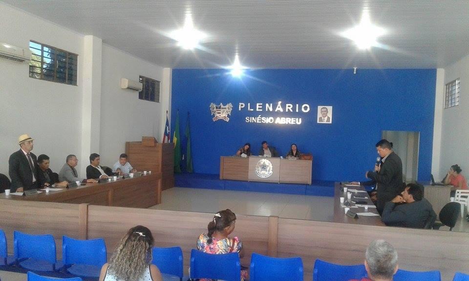 SESSÃO DA CÂMARA MUNICIPAL DE ESTREITO-MA